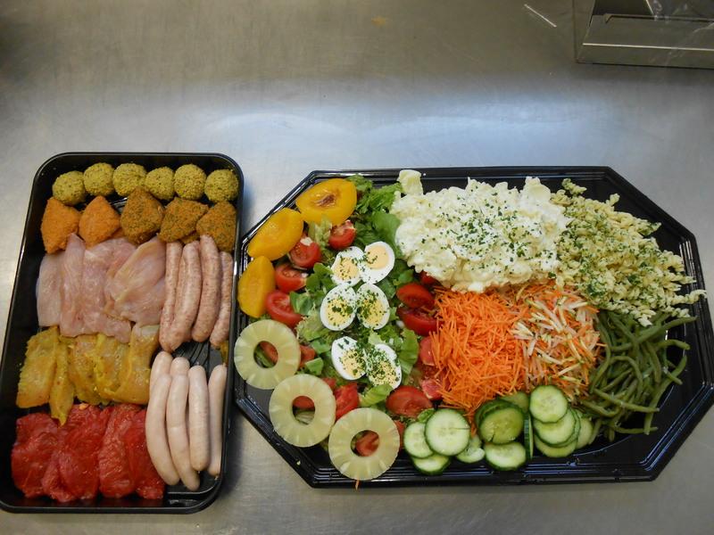welke groenten bij de bbq